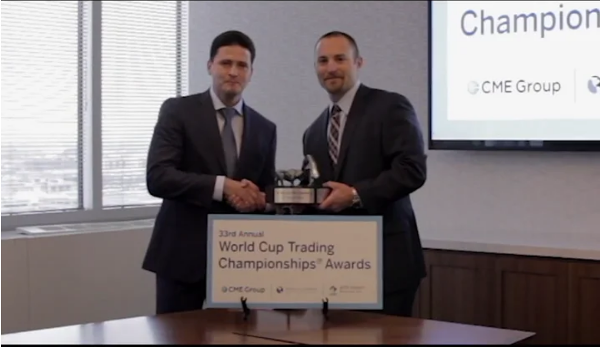 2016 World Cup Trading Championship Awards Ceremony