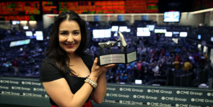 Victoria Grimsley – 2013 World Cup Trading Champion